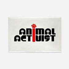 Animal Activist Rectangle Magnet