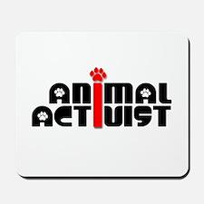 Animal Activist Mousepad