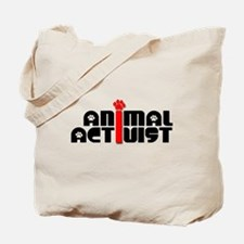 Animal Activist Tote Bag