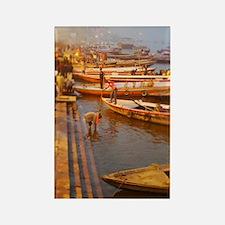 Ganges River Rectangle Magnet