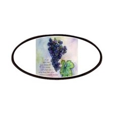 Merlot Wine Painting Patches