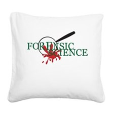 Magnified Spatter Square Canvas Pillow