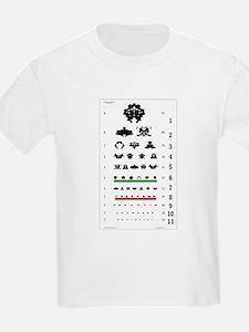 Inkblot Eye-Chart Kids T-Shirt