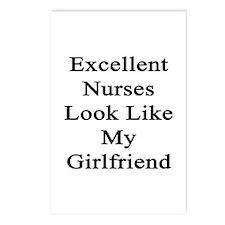 Excellent Nurses Look Lik Postcards (Package of 8)