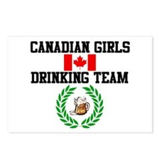 Girls Drinking Team Postcards (Package of 8)