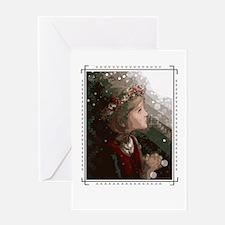 Ziemsvetku - Meitene / Single Greeting Card
