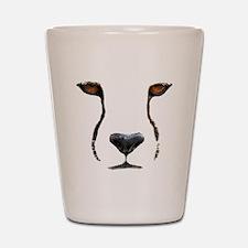 Cheetah Shot Glass