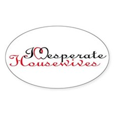 Desperate Housewives Oval Decal