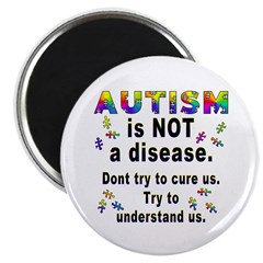 Autism is NOT a disease! 2.25