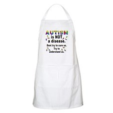 Autism is NOT a disease! BBQ Apron