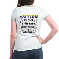 Autism is NOT a disease!(OnBack) T