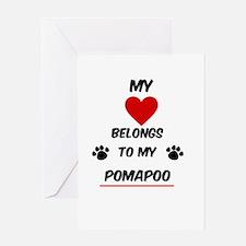 PomaPoo Greeting Cards