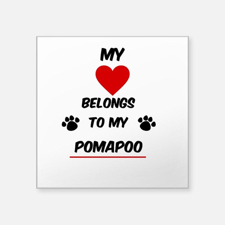 PomaPoo Sticker