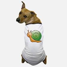 Orange and Green Snail Dog T-Shirt