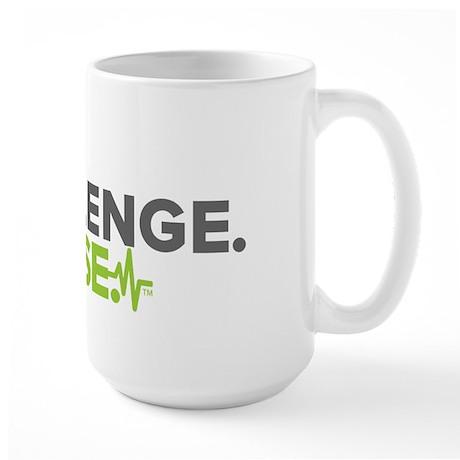 Dr. A Stop. Challenge. Choose. Large Mug