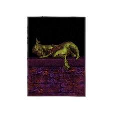 Let sleeping dragons lie 5'x7'Area Rug