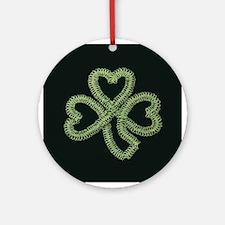 Celtic Knot - Irish Memories Ornament (Round)