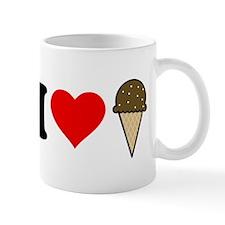 I Heart Ice Cream Cone Mug