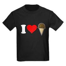 I Heart Ice Cream Cone T