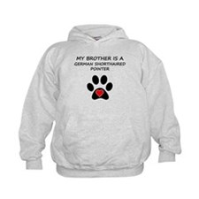 German Shorthaired Pointer Brother Hoodie
