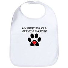 French Mastiff Brother Bib