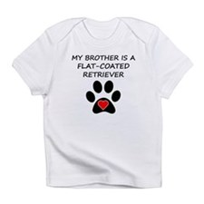 Flat-Coated Retriever Brother Infant T-Shirt