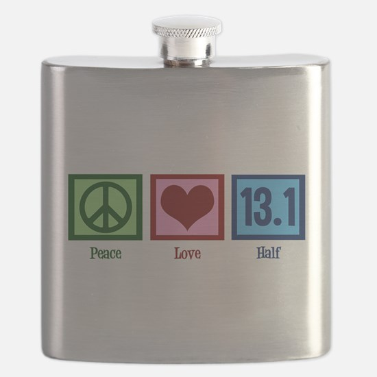 Peace Love 13.1 Flask