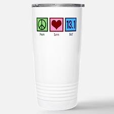 Peace Love 13.1 Travel Mug