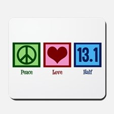 Peace Love 13.1 Mousepad