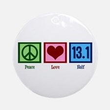 Peace Love 13.1 Ornament (Round)