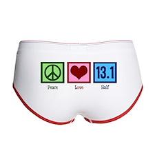 Peace Love 13.1 Women's Boy Brief