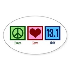 Peace Love 13.1 Decal