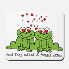 Froggy Love Mousepad