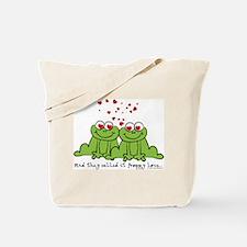 Froggy Love Tote Bag