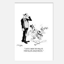 Kids Emulating Bad Sportsmanship Postcards (Packag