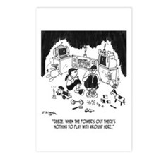 Nothing to Do W/O Electricity Postcards (Package o
