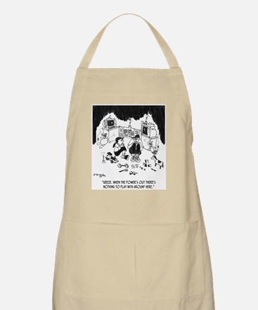 Nothing to Do W/O Electricity Apron