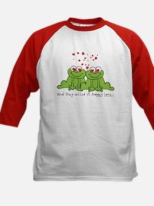 Froggy Love Kids Baseball Jersey