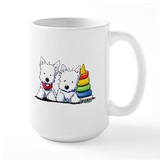 Westie Playful Puppies Mug