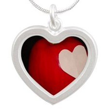 Reborn apple Silver Heart Necklace