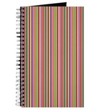 Colourful Lines Pattern Journal