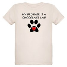 Chocolate Lab Brother T-Shirt