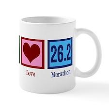 Peace Love 26.2 Mug