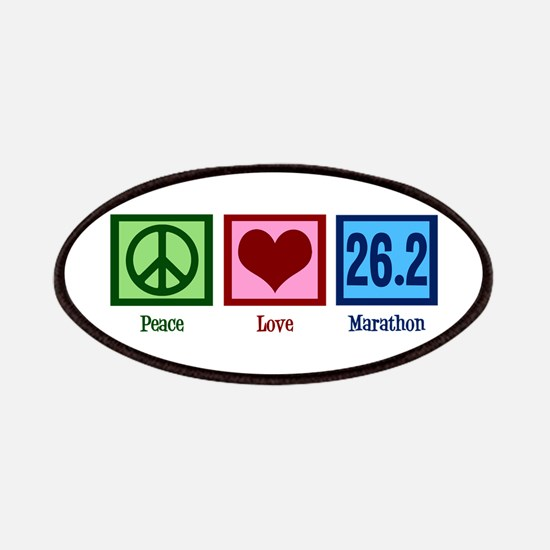 Peace Love 26.2 Patches