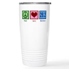 Peace Love 26.2 Travel Mug