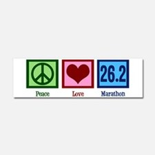 Peace Love 26.2 Car Magnet 10 x 3