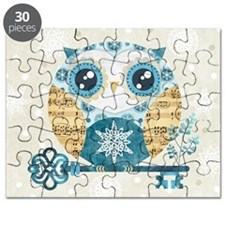 Winter Wonderland Owl Puzzle