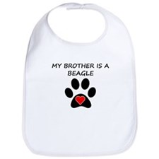 Beagle Brother Bib