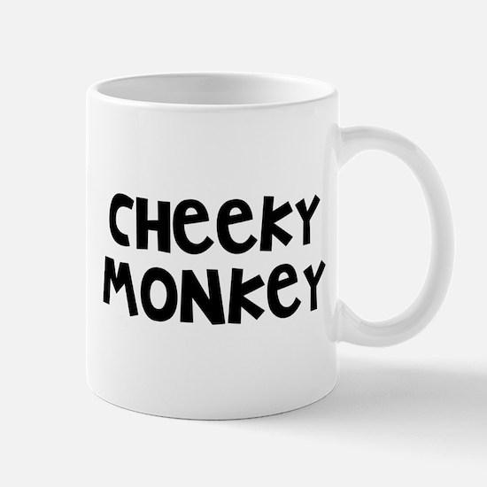 Cheeky Monkey Small Mugs