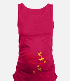 Thanksgiving Baby Blessing Maternity Tank Top